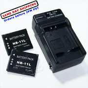 For Canon Nb-11l Battery Charger Powershot Elph 110 340 Hs 125 130 140 150 160