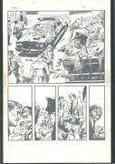++ Great Gene Colan Fully Penciled Art For A Demon Story - Pg 3