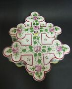 Box Cross Of Lorraine Signed St Clement 19th Decor Painted Hand Period Galle