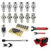 75 Pc. Pioneer Cat 40 Performance Tooling Kit For Haas Cnc Mill W/t/c Tap Holder