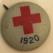 Antique Vintage 1920 American Red Cross Mini Pin