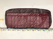Nos 1988-1994 Chevy C/k Truck Bench Upper Back Seat Cover Dark Red Nice 15576628