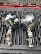 Vintage Ford Flathead Hot Rod Model A Roadster Headlights 1920and039s 1930and039s Rat Rod