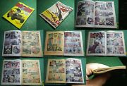 Interior Comic Book Replacement Pages Printed On Newsprint For Incomplete Books