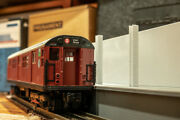 Mth And Lionel O Scale Subway Station Pre-built And Assembled Atlas O Track