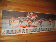 Rare 1969 General Foods Post Cereal Power Play Goal Canadien Nhl Player Poster 2