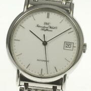 International Portofino Iw3513018 Automatic Menand039s Ss From Japan [a1011]