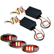 Chase Flash Module Boxes 3 Step Sequential Universal For Car Turn Signal Light
