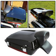 Painted Razor Pack Trunk W/pad For Harley Tour Pak Street Electra Glide 97-13 12