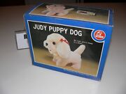 Vintage Judy Puppy Dog Rare Battery Operated Funny Toys Co.