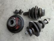International 350 Utility Tractor Ihc Matched Set Transmission Gears And Pinion