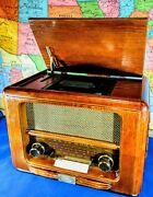 S.o.s.l. Spirit Of St Louis - Stamford Wood Cabinet Cd Player With Am/fm Radio
