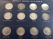 1913 To 1938 Complete Nickel Buffalo Set All 64 Coins All Natural Dates