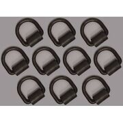 10 1/2 Bolt Or Weld-on D-ring Flatbed Truck Trailer Cargo Strap Tie Down Rings