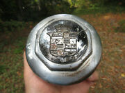 Antique Vintage Cadillac Hubcap Grease Cap Dust Cover About 5 1/8