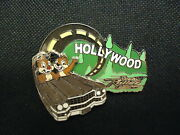Disney Wdw Gasp Grasp And Go Rock N Roller Coaster Chip And Dale Pin Le 1500
