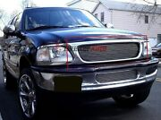 Fit 97-98 Ford Expedition/f150/f250 Bar Style Main Upper Aluminum Billet Grilles