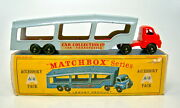Matchbox Accessory Pack A2 Car Transportr Rot And Grau Top In Sehr Rarer D Box