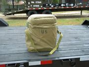 0ne..military Surplus Insulated 5 Gal Water Can Case Army Field Kitchen -stained