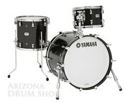 Yamaha Absolute Hybrid Maple 3pc.jazz Bop Shell Pack Solid Black 12/14/18 New