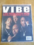 Vibe Magazine February 1996 Death Row Cover Tupac Snoop Dogg Dr Dre Suge Knight