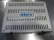 Storz E7414 Instrument Tray With Various Bone Screws Plates Drill Bits