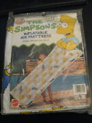 Simpsons Inflatable Air Mattress For Pool Use/mattel Mint In Pkg Very Rare
