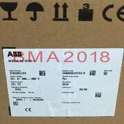 1pc New Inverter Acs510-01-072a-4 37kw Fast Delivery Ab9t