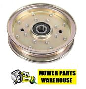 New Flat Idler Pulley Replaces Exmark 116-4665 126-9187 Lazer Z 48 52 60