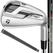 Taylormade P790 Ti Custom Irons - Pick Your Graphite Shaft New 2019