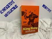 Vintage 1976 King Kong Display - Milk Chocolate Peanut Butter Cups Candy Box