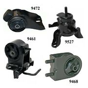 4pcs Front And Rear Motor Mount Fit 2000-2001 Fits Mazda Mpv 2.5l