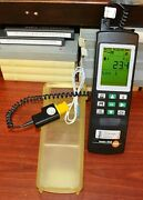 Testo 945 Logging Thermometer W/k Type Thermocouple And Enclosure