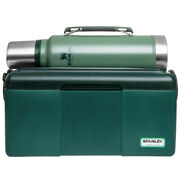 Stanley Heritage 6.6l Lunchbox Cooler And 1l Vacuum Insulated Bottle Combo Green