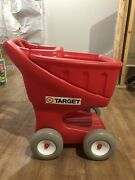 Vintage Target Store Shopping Grocery Cart Toy Retro Advertising Display