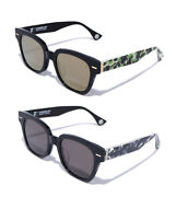 A Bathing Ape Menand039s Goods Eyewear Sunglass 2 Camo 2colors From Japan New