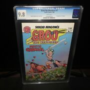 Groo The Wanderer 7 Cgc 9.8 Pacific Comics First Appearance Of Chakaal 1984