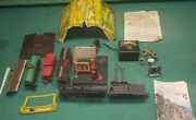 Lionel Building Engine Tender Freight Cars Light Lot Marx Tunnel Power Supply
