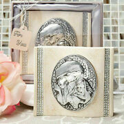 10-60 Madonna And Christ Child Plaque - Christening Baptism Religious Favors