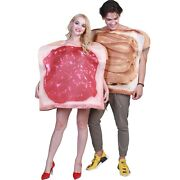 Couples Halloween Costumes Adults Funny Food Sandwich Peanut Butter And Jelly