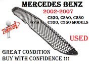 Front Bumper Lower Center Amg Mesh Grile For Mercedes W203 C230 C280 C350 Used