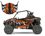 Rzr 1000 Xp Graphics Kit With Door Wrap 24 Mil Thick Free Custom Service 3500