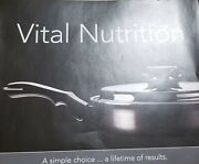 Vital Nutrition Chefand039s Stainless Steel Cookware Set Of 9 - Silver