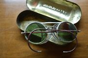 Antique Rochester Optical Welding/safety Glasses Steampunk