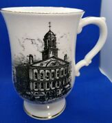 Crown Sussex Footed Mug Faneuil Hall Boston C3