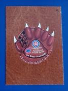 2016 Wacky Packages Ans14 Leather 15 Cubs Catcher's Mitt /3 @@ Rare @@