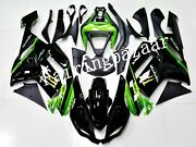 Fit For Zx6r 636 2007 2008 Black Apple Green Abs Injection Bodywork Fairing Kit