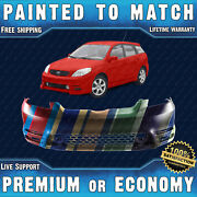 New Painted To Match Front Bumper Replacement For 2003 2004 Toyota Matrix Xr Xrs