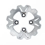 Braking Front Wave Rotor Heat-treated Light Weight Stainless Steel Disc Ya30fid