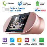 Kocaso Android 6.0 Tablet 7 Touch Screen Quad Core And 25w Wireless Speaker Us